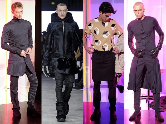 Модная мужская одежда осень 2013